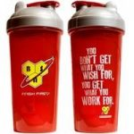BSN Shaker – red with silver cap