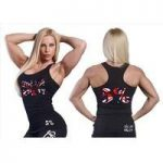 Rich Piana Love It Kill It – Ladies Tank Top with Union Jack Logo (104)