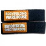 Bodybuilding Warehouse Canvas Lifting Straps (Black)